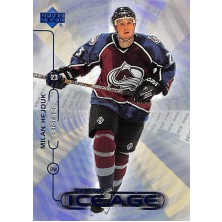 Hejduk Milan - 1999-00 Upper Deck New Ice Age No.N14