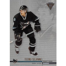 Selanne Teemu - 2001-02 Titanium Retail No.124