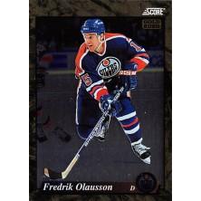 Olausson Fredrik - 1993-94 Score Canadian Gold Rush No.645