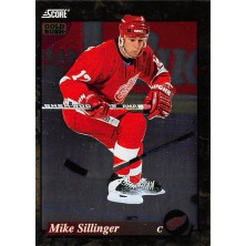 Sillinger Mike - 1993-94 Score Canadian Gold Rush No.651