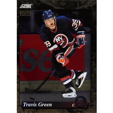 Green Travis - 1993-94 Score Canadian Gold Rush No.661