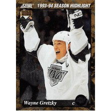 Gretzky Wayne - 1993-94 Score Canadian Gold Rush No.662