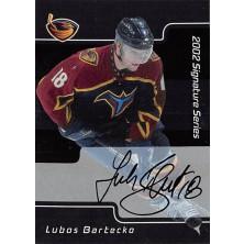 Bartečko Luboš - 2001-02 BAP Signature Series Autographs No.174