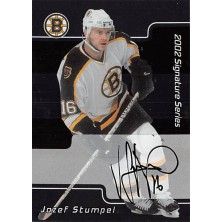 Stumpel Jozef - 2001-02 BAP Signature Series Autographs No.116