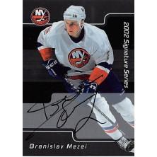 Mezei Branislav - 2001-02 BAP Signature Series Autographs No.94