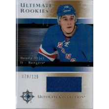 Skjei Brady - 2015-16 Ultimate Collection 05-06 Ultimate Rookies Silver No.5-BS