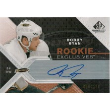 Ryan Bobby - 2007-08 SP Game Used Rookie Exclusives Autographs No.RE-BR