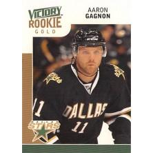 Gagnon Aaron - 2009-10 Victory Gold No.310
