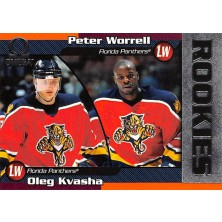 Worrell Peter, Kvasha Oleg - 1998-99 Omega No.108