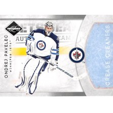 Pavelec Ondřej - 2011-12 Limited Crease Cleaners Silver Spotlight No.18