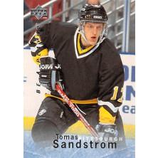 Sandstrom Tomas - 1995-96 Be A Player No.160