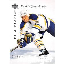 Holzinger Brian - 1995-96 Be A Player No.161