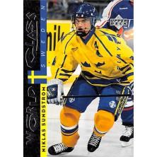 Sundstrom Niklas - 1995-96 Be A Player No.177