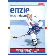 Nolan Owen - 1990-91 Score Young Superstars No.36