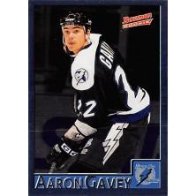 Gavey Aaron - 1995-96 Bowman Foil No.121