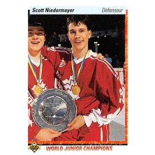 Niedermayer Scott - 1990-91 Upper Deck French No.461