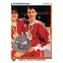 Niedermayer Scott - 1990-91 Upper Deck No.461