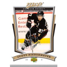 Niedermayer Scott - 2007-08 MVP No.106