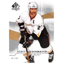Niedermayer Scott - 2008-09 SP Authentic No.13