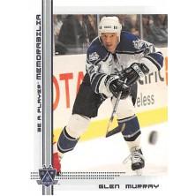 Murray Glen - 2000-01 BAP Memorabilia No.122
