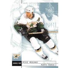 Modano Mike, Turco Marty - 2002-03 Mask Collection No.28