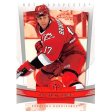 Brind´Amour Rod - 2006-07 Hot Prospects No.21