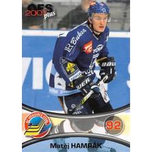 Hamrák Matěj - 2006-07 OFS No.394