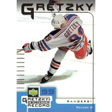 Gretzky Wayne - 1999-00 McDonalds Upper Deck Gretzky Performance for the Record No.8 A2