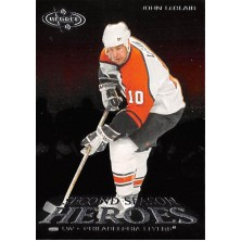 LeClair John - 2000-01 Heroes Second Season Heroes No.SS9 A2