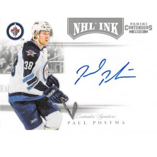 Postma Paul - 2011-12 Contenders NHL Ink No.68 A2