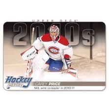 Price Carey - 2014-15 Upper Deck Hockey Heroes No.HH84