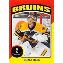 Rask Tuukka - 2014-15 O-Pee-Chee Stickers No.ST35