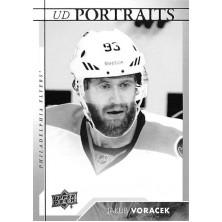 Voráček Jakub - 2017-18 Upper Deck Portraits No.P12