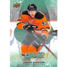 Voráček Jakub - 2016-17 MVP Green Script No.240