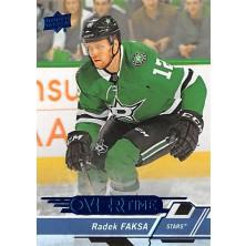 Faksa Radek - 2018-19 Overtime Blue No.81