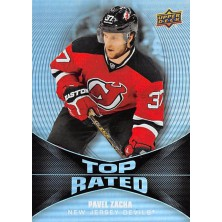 Zacha Pavel - 2016-17 Overtime Top Rated No.TR18
