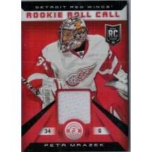 Mrázek Petr - 2013-14 Totally Certified Rookie Roll Call Jerseys White No.RR-PMR