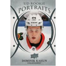 Kahun Dominik - 2018-19 Upper Deck Portraits No.P65