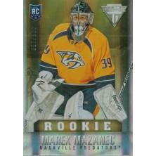 Mazanec Marek - 2013-14 Rookie Anthology Titanium Update Rookie Draft Position No.273