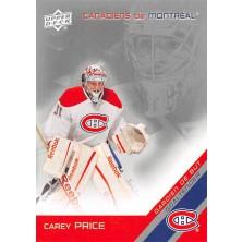 Price Carey - 2011-12 McDonalds Upper Deck Montreal Canadiens No.5
