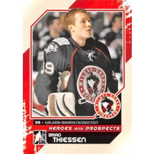 Thiessen Brad - 2010-11 ITG Heroes and Prospects No.126
