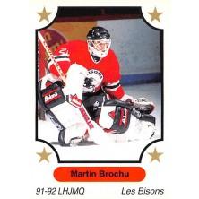Brochu Martin - 1991-92 7th Inning Sketch QMJHL No.44