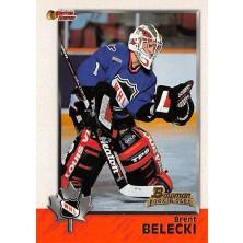 Belecki Brent - 1998-99 Bowman CHL No.41