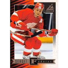 Fedorov Sergei - 1997-98 Zenith No.22