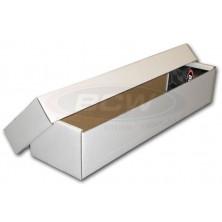 Papírová krabice BCW na 800 karet - dvoudílná