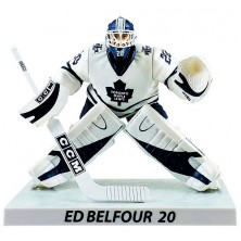 Figurka Ed Belfour Limited Edition - Toronto Maple Leafs - Imports Dragon - white