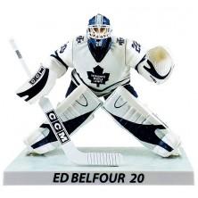 Figurka Ed Belfour Limited Edition - Toronto Maple Leafs - Imports Dragon - white