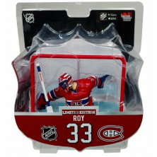Figurka Patrick Roy Limited Edition s brankou - Montreal Canadiens - Imports Dragon