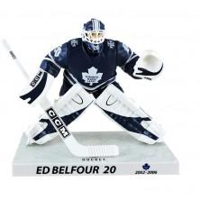 Figurka Ed Belfour Limited Edition - Toronto Maple Leafs - Imports Dragon - blue