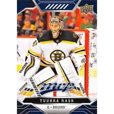 Rask Tuukka - 2019-20 MVP Factory Set Blue No.28